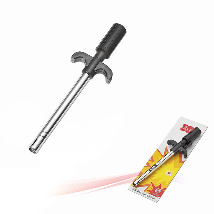 Plastic Handle Slim Gas Lighter